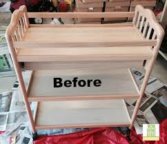 diy baby changing table baby changing table to beverage cart momhomeguide com