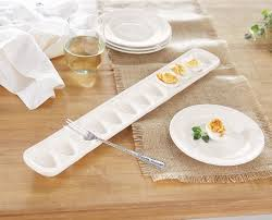 ceramic egg trays mud pie deviled egg tray set white deviled egg plates