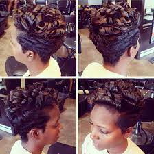 african american short bob hairstyles back of head short hairstyles with curly hair african american women haircuts