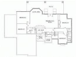 finished basement floor plans rambler house plans with finished basement by eplans home simple
