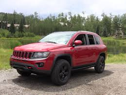 jeep crossover tflcar drives a factory modified jeep compass concept with some