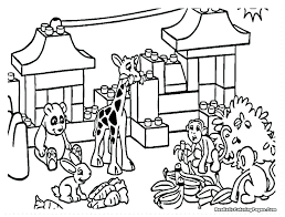 zoo coloring pages preschool zoo animals coloring pages kids coloring zoo entrance coloring page