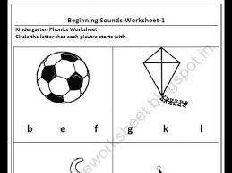free download kindergarten beginning sound worksheets youtube