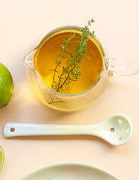 cuisine au thé thé glacé au thym pour 4 personnes recettes à table