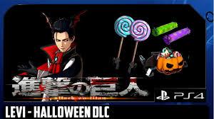 attack on titan dlc levi the handsome blood spiller halloween