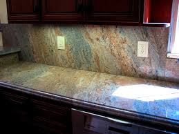 Kitchen Countertop Backsplash Bathroom Enchanting Kitchen Counters And Backsplash Height