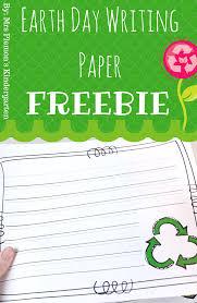 kinder writing paper grandparent s day sheet music writing paper kindergarten and earth earth day writing paper freebie by mrs plemons kindergarten