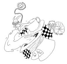 sketches for wonderland caterpillar stencil sketches www
