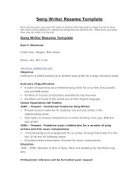 Example Of A Written Resume by Example Of Writing Resume Resume For Your Job Application