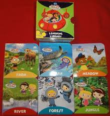 disney einsteins learning library books nature