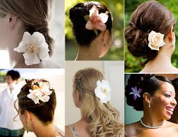 flowers for hair how to wear flowers in your hair on your wedding day chicago