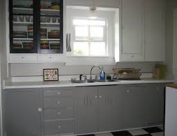 White Kitchen Cabinets Black Granite Grey Kitchen Cabinets With Black Countertops Glass Door Stainless