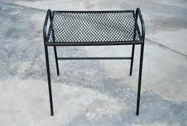 Patio Side Tables Patio Side Table Patio Ottomans 4 Patio Side Tables Metal Maddie