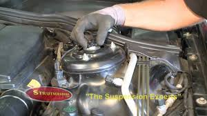 how to fix the front suspension on a mercedes s430 youtube