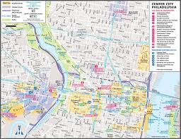 University Of Miami Map by Large Philadelphia Maps For Free Download And Print High