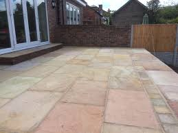 Indian Sandstone Patio by Darrow Knowler U2013 Paving North West Buff Multi Indian Stone Patio