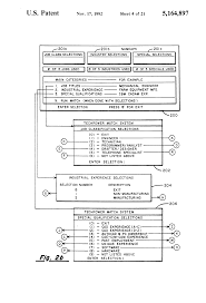 patent us5164897 automated method for selecting personnel