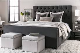 Bedroom Sets Used Knox Leighton Eastern King Upholstered Panel Bed Living Spaces