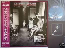 Obi Teh promo label kick axe japan obi welcome to teh club ebay