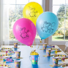 Party City Balloons For Baby Shower - peppa pig essential decorations idea party city