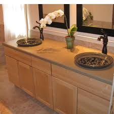 The Bathroom Sink Vanity With Vessel Sink Advantages And - Bathroom vanities double vessel sink