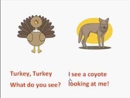 turkey turkey what do you see thanksgiving books