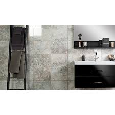 wickes avellino cappuccino grey ceramic tile 360 x 275mm wickes