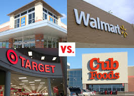 grocery store price comparison aldi target walmart and cub