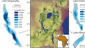africa map elevation elevation map of east africa with bathymetries of lake tanganyika