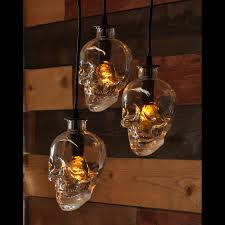 recycled chandeliers skull bottle lamp crystal head vodka chandelier by moonshinelamp
