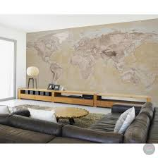 neutral world map atlas wall mural funky store neutral world map atlas wall mural