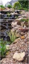 backyards cool grotto waterfalls 77 pondless waterfall kits for