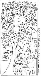 happy garden printable colouring book pages 5