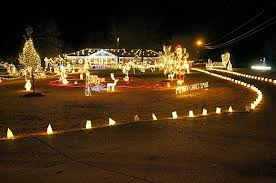 benson nc christmas lights the meadow lights in benson nc create a christmas fantasy through