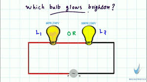 which light bulb is the brightest which bulb glows brighter series connection youtube