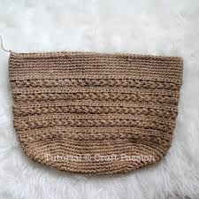 crochet pattern using star stitch star stitch tote free crochet pattern jute twine video link and