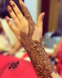 best back side mehndi design fashion mehndi jewellery