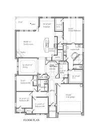 Custom Home Floorplans by The Juniper Park Place New Home Floor Plan Waxahachie Texas