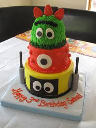 Yo Gabba Gabba Party Ideas by Cartoon Character Cakes