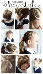 easy and quick back to hairstyles inspiration fashionthese