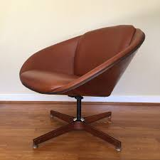 mid century modern george mulhauser bentwood lounge chair for