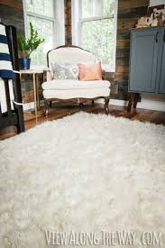 How Much Does A Bear Rug Cost How To Make A Diy Faux Fur Rug View Along The Way