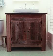 bathroom rustic sink vanity reclaimed wood bathroom vanity