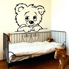Baby Wall Decals For Nursery by Wall Ideas Bird Cage Tree Nursery Wall Stickers Removable Vinyl