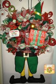 Buddy The Elf Christmas Decorations Santa Wreath Santa Claus Wreath Holiday Wreath Christmas Trendy