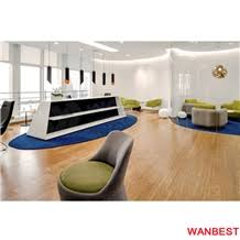 Lobby Reception Desk High Gloss Solid Surface Artificial Marble White Hospital Hotel