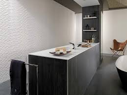 venis wave white dimensional textured feature tile available