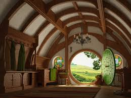 the entrance hall to bag end the lord of the rings the hobbit