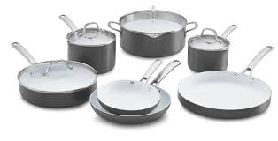 black friday pots and pans set calphalon classic ceramic nonstick 11 pc cookware set