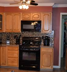kitchen traditional kitchen design with oak kitchen cabinets and
